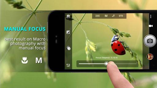 تطبيق Fast Camera للتصوير الاحترافي