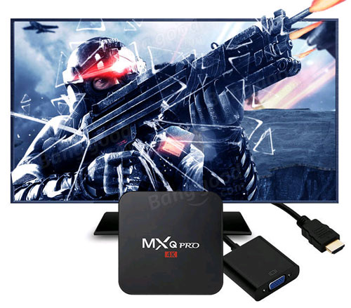 جهاز MXQ Pro 4K