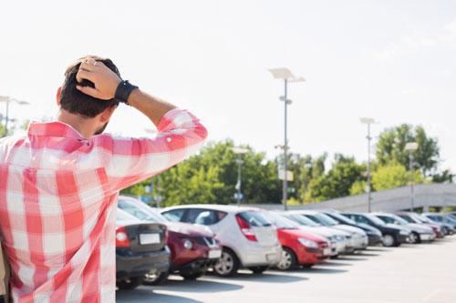 شرح كيفية إيجاد سياراتك في موقف السيارات الكبير بواسطة الأيفون !