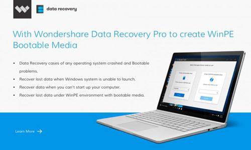 برنامج Wondershare Data Recovery Pro - استرجع ملفاتك في حال ظهرت النافذة الزرقاء