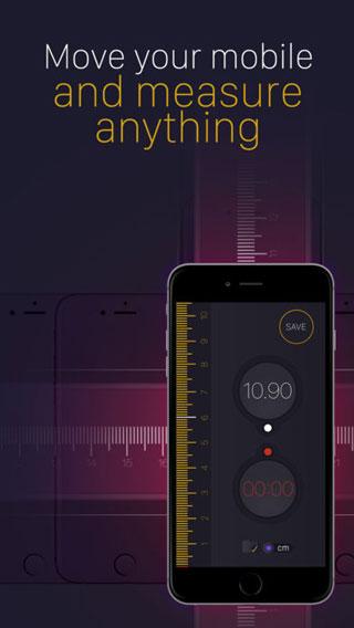 تطبيق Tape Measure PRO لتحويل جهازك الأيفون لأداة قياس ومسطرة !