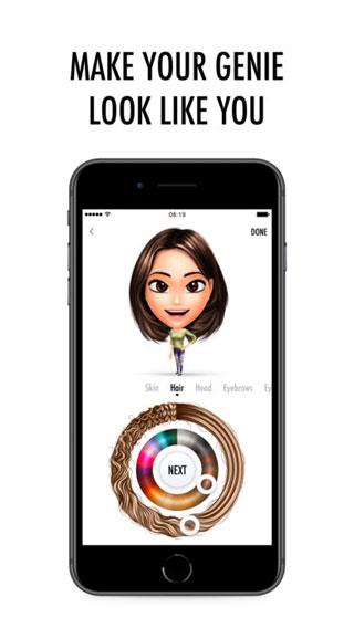 تطبيق Genies لتصميم شخصيتك الكرتونية