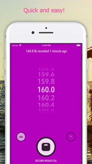 تطبيق WeightTrackerHK للتحكم في وزنك