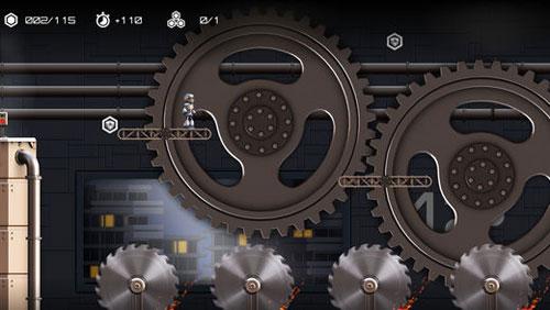 لعبة Atom Run لمساعدة الروبوت الظريف