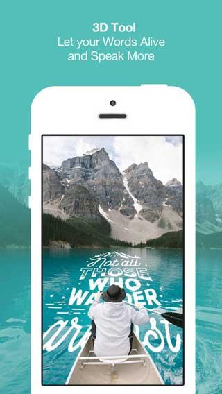 تطبيق Typcas للكتابة بخطوط جميلة على صورك