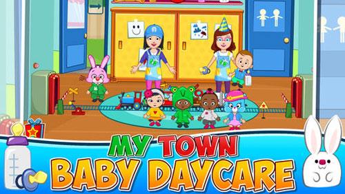 تطبيق My Town : Daycare لإدارة حضارة أطفال