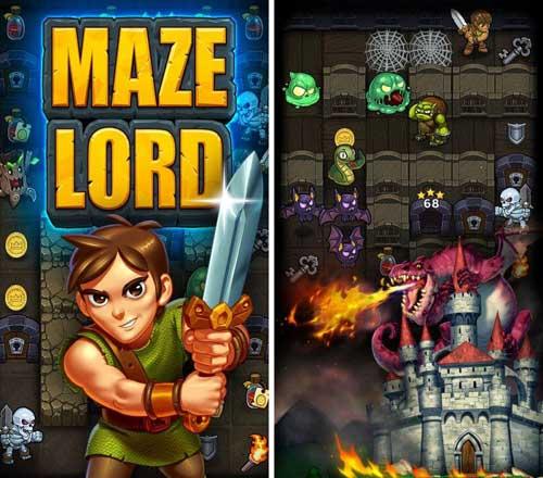 لعبة Maze Lord لألغاز مرعبة مميزة
