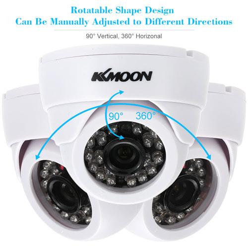 كاميرا المراقبة KKmoon HD 1200TVL