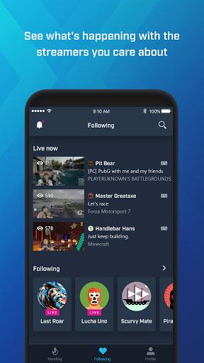 تطبيق Mixer للبث المباشر للألعاب من شركة مايكروسوفت