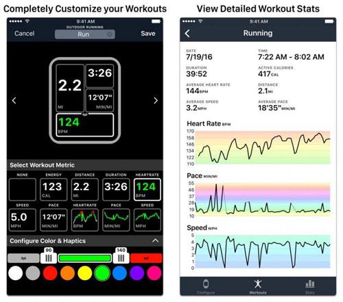 تطبيق Workouts++ إحصائيات دقيقة لنشاطاتك الرياضية