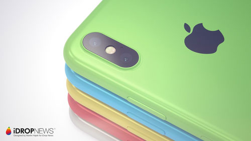 صور تخيلية - هكذا سيكون تصميم ايفون XC - ما رأيكم ؟