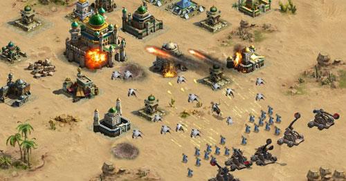 تحديث لعبة الفاتحون - أفضل ألعاب SLG الملحمية بتصميم عربي متكامل