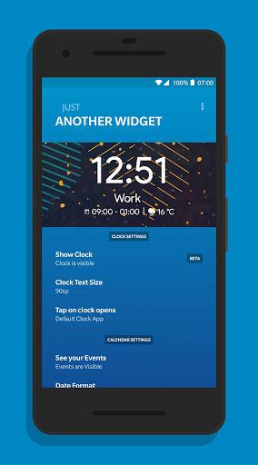 تطبيق Another Widget للتعرف على حاجاتك من الويدجت