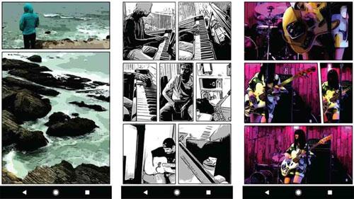 تطبيق Storyboard لتجميع الصور والفيديو في إطارات مميزة