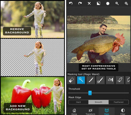 تطبيق Superimpose لتعديل الصور باحترافية