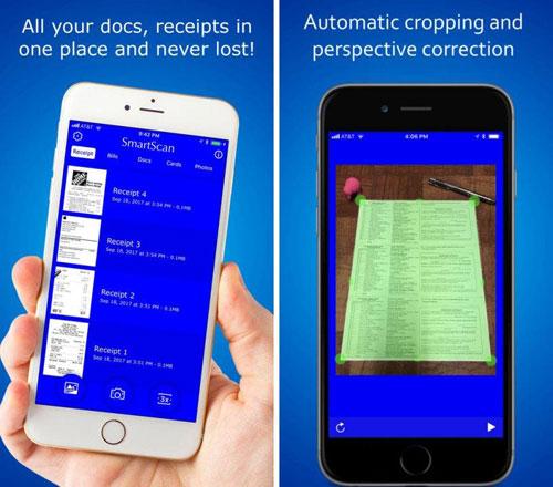 تطبيق SmartScan Express لمسح ضوئي للوثائق