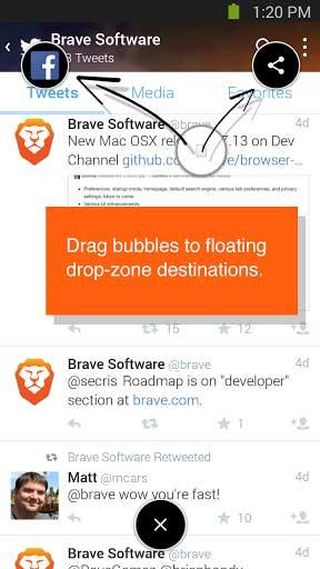 تطبيق Brave Browser لتصفح المواقع بسرعة والتنقل بحرية