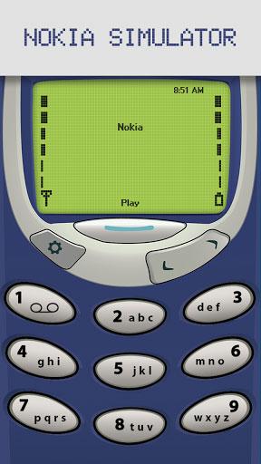 لعبة Classic Snake محاكاة لهواتف نوكيا القديمة