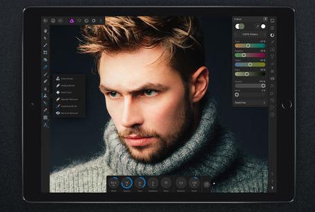 تطبيق Affinity Photo أفضل تطبيق للآيباد في 2017