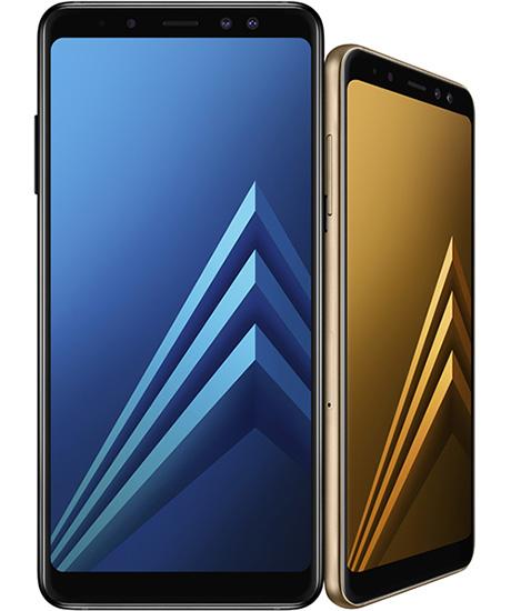 سامسونج تكشف رسمياً عن هواتف Galaxy A8 و Galaxy A8 Plus نسخة 2018