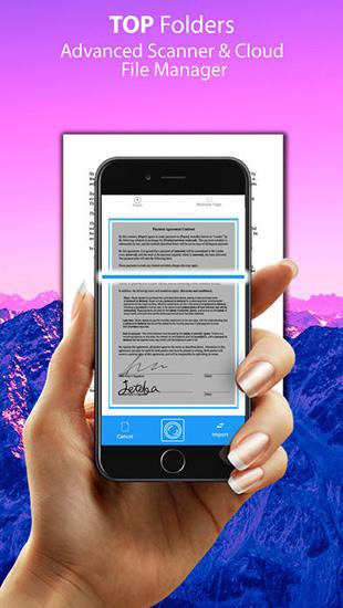 تطبيق Top Folders Pro لإدارة المستندات وماسح ضوئي - مجانا لوقت محدود