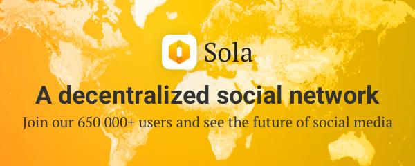 تطبيق Sola - شبكة اجتماعية تفاعلية يمكن أن تجني منها المال !
