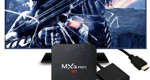 عرض على جهاز MXQ Pro 4K - شغل نظام الأندرويد على التلفاز بمزايا كثيرة