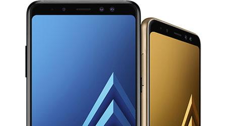 صورة سامسونج تكشف رسمياً عن هواتف جالكسي A8 و جالكسي A8 بلس نسخة 2018