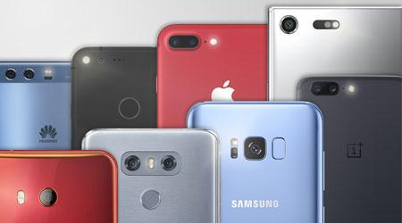 Photo of الهواتف الذكية ذات الكاميرا الأفضل في عام 2017