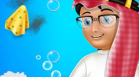 لعبة بلال النظيف - العاب ذكاء الغاز لتعليم الأطفال أبجديات النظافة