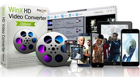 عرض - WinX HD Video Converter Deluxe أفضل برنامج لتحرير فيديو HD و4K