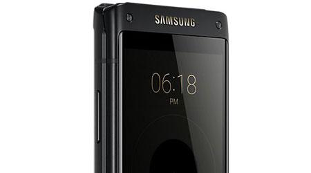 ساسمونج تعلن رسميا عن هاتف W2018 القابل للطي !
