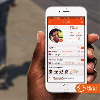 تطبيق Tikki للاتصال الدولي بأفضل المزايا