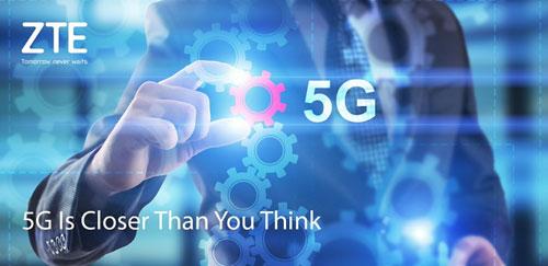 شركة ZTE ستكون من المنافسين في سوق شبكة 5G