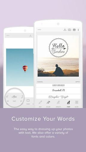 تطبيق Cupslice Photo Editor لتحرير الصور باحترافية