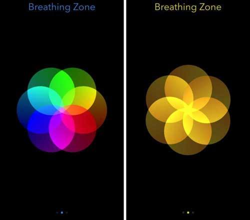 تطبيق Breathing Zone للحصول على استرخاء التنقس