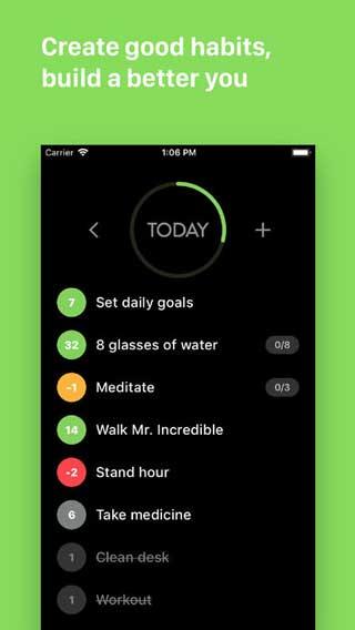 تطبيق Habit List لتنظيم عاداتك اليومية