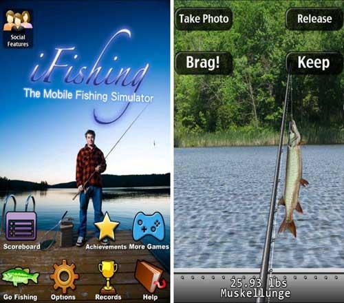 لعبة i Fishing لتعليم صيد السمك بمتعة