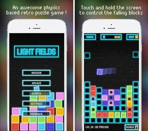 لعبة LightFields Logic game فيزيائية مسلية