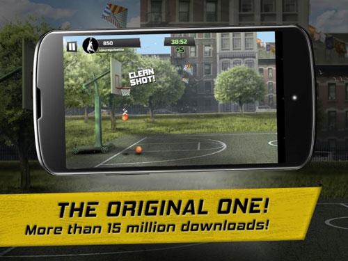لعبة iBasket Pro للحصول على التحدي والتسلية