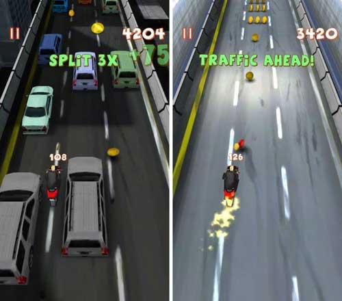لعبة Lane Splitter لمحبي الدراجات النارية في المدينة