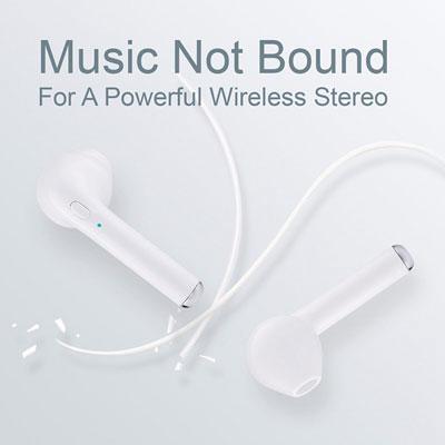 عرض كبير على سماعات I7 Wireless BT اللاسلكية المميزة