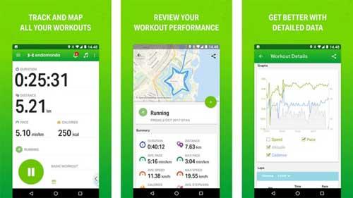 تطبيق Endomondo لمتابعة نشاطاتك الرياضية