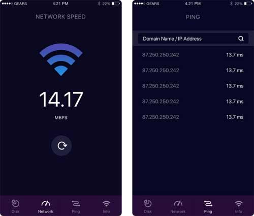 تطبيق WiFi PRO لفحص شبكة الواي فاي وتسريع الأيفون والآيباد !