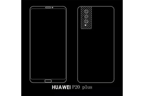 هاتف Huawei P20 سيحمل ثلاث كاميرات خلفية