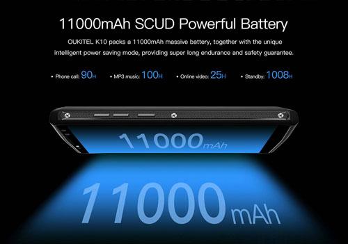 مذهل - هاتف OUKITEL K10 ذو البطارية الضخمة والمزايا التقنية العالية - لا تفوته !