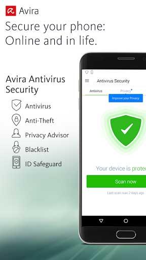 تطبيق Avira Antivirus Security لحماية جهازك