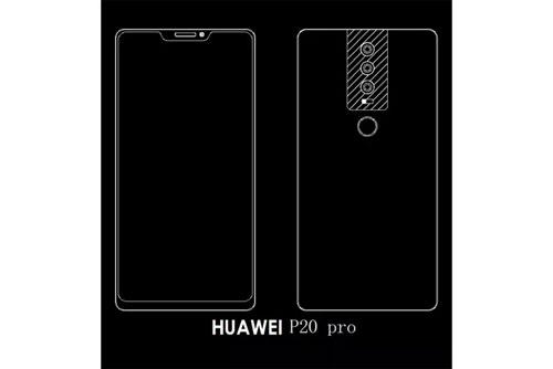 هاتف Huawei P20 سيحمل ثلاث كاميرات خلفيةهاتف Huawei P20 سيحمل ثلاث كاميرات خلفية