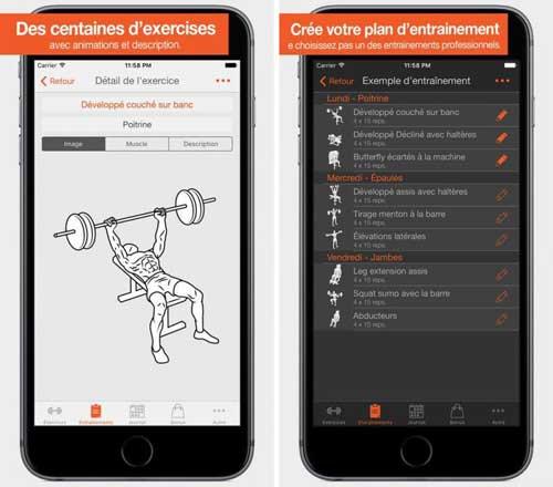 تطبيق Fitness Point Pro لبناء الجسم للرجال