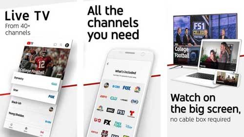 تطبيق YouTube TV لمشاهدة القنوات التلفزيونية